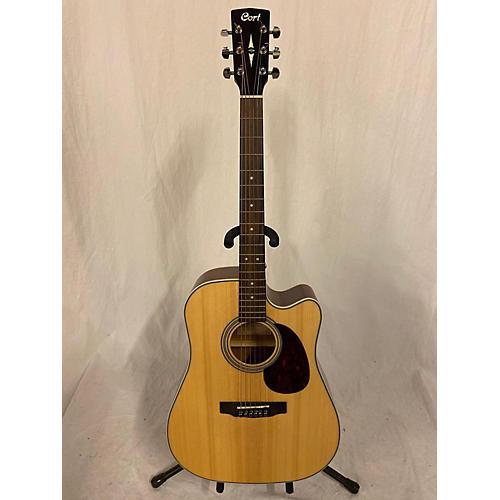 Cort Mr600f Acoustic Electric Guitar Natural
