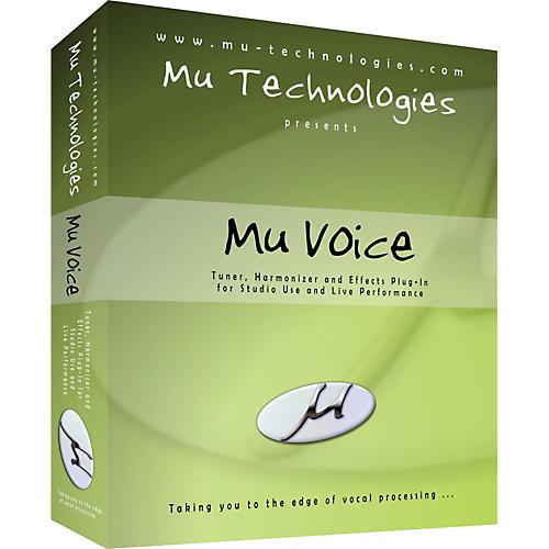 Mu Technologies Mu Voice Vocal Plug-In