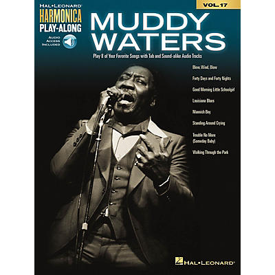 Hal Leonard Muddy Waters Harmonica Play-Along Volume 17 Book/Audio Online