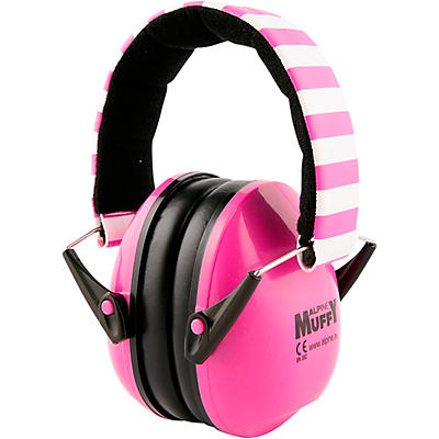 Alpine Hearing Protection Muffy Pink Protective Headphones