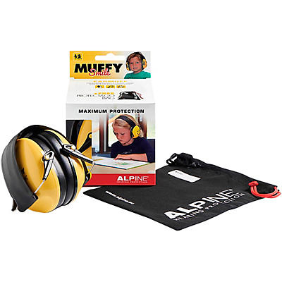 Alpine Hearing Protection Muffy Smile Yellow Protective Headphones