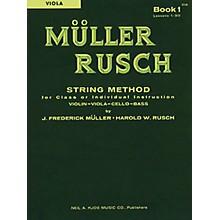 KJOS Muller-Rusch String Method 1 Viola Book