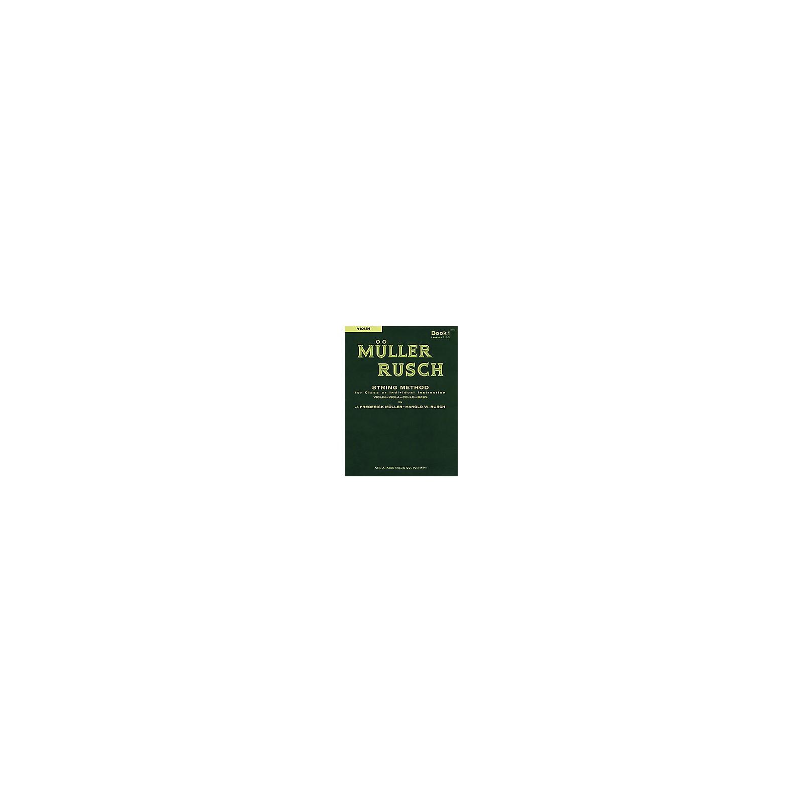 KJOS Muller-Rusch String Method 1 Violin Book