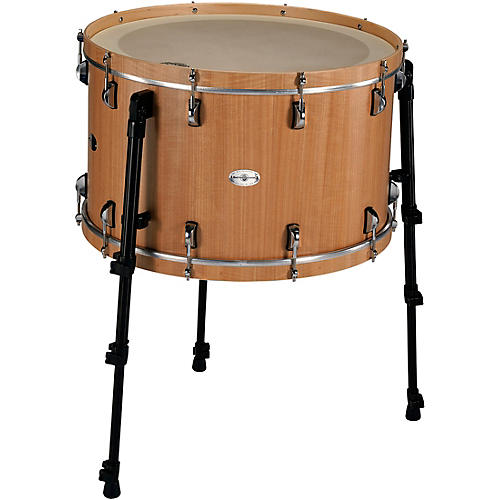 Black Swamp Percussion Multi-Bass Drum in Figured Anigre Veneer 24 in.