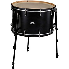 Black Swamp Percussion Multi Bass Drum in Satin Concert Black Stain