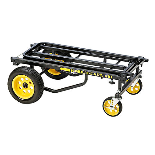 Rock N Roller Multi-Cart R10RT Max Black Frame/Yellow Wheels Max