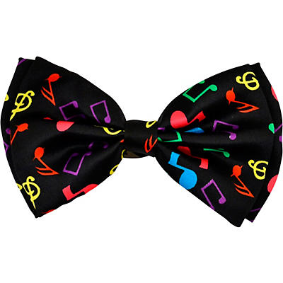 AIM Multi Color Bow Tie With Music Notes