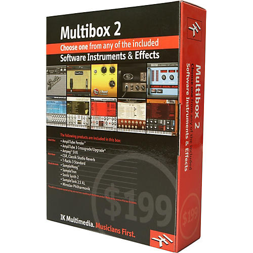 IK Multimedia MultiBox 2