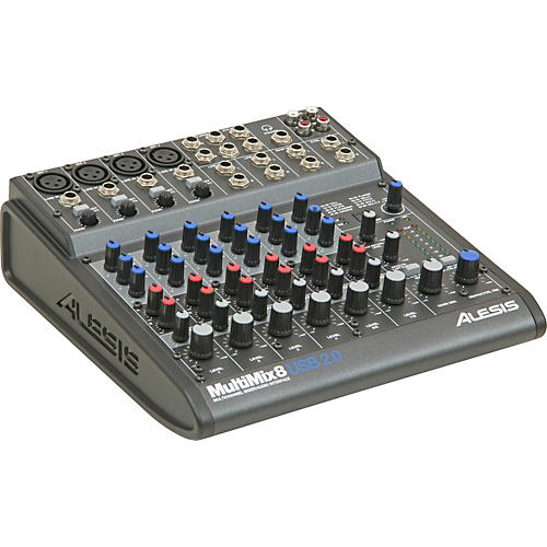 Alesis MultiMix 8 USB 2.0 8-Channel Mixer