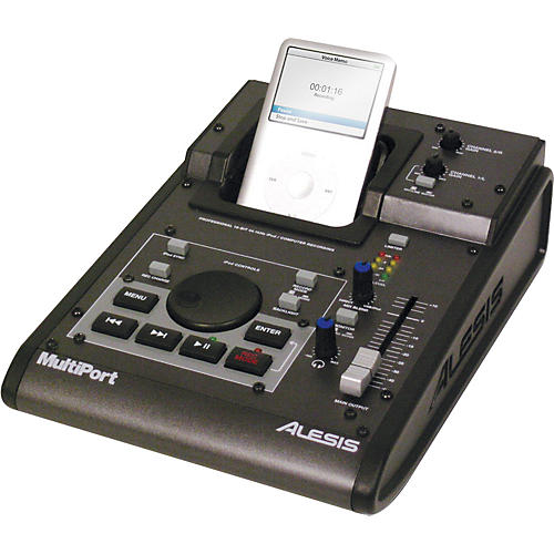 Alesis MultiPort Desktop iPod Recorder