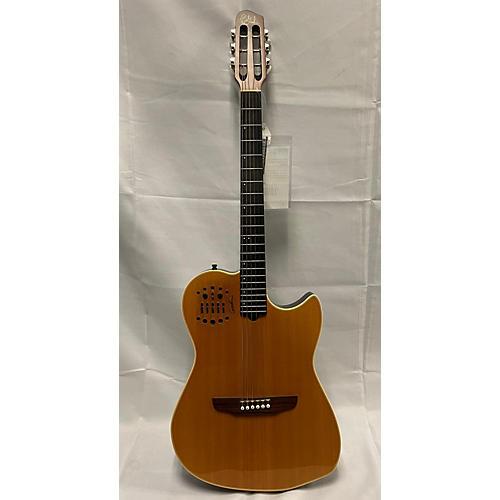 Godin Multiac Classical Acoustic Electric Guitar Natural