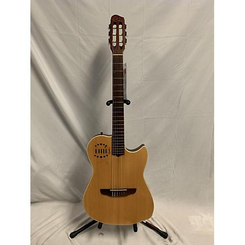Godin Multiac Duet Ambiance Acoustic Electric Guitar Natural
