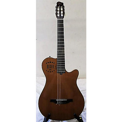 Godin Multiac Grand Concert Duet Ambiance Classical Acoustic Electric Guitar