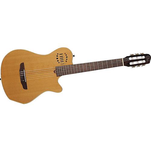 Godin Multiac Grand Concert Duet Nylon String Electric Guitar