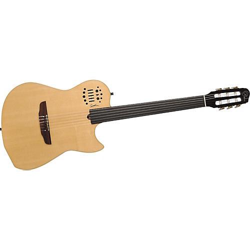 godin multiac nylon string fretless electric guitar musician 39 s friend. Black Bedroom Furniture Sets. Home Design Ideas