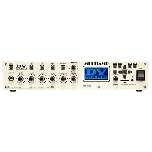 DV Mark Multiamp 3-Channel Preamp/Effects Processor/Power Amp Condition 1 - Mint White