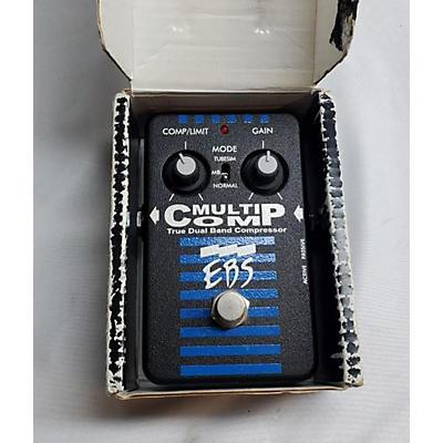 EBS Multicomp Compressor Bass Effect Pedal