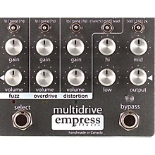 Open BoxEmpress Effects Multidrive Overdrive Guitar Effects Pedal