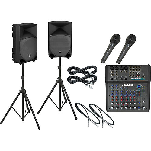 Alesis Multimix 8 USB FX / Thump TH-12A PA Package