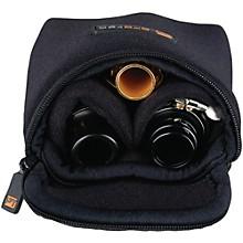 Multiple Trombone/Alto Sax/Clarinet Mouthpiece Pouch Black