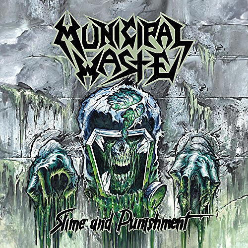 Alliance Municipal Waste - Slime And Punishment Coke Bottle Green