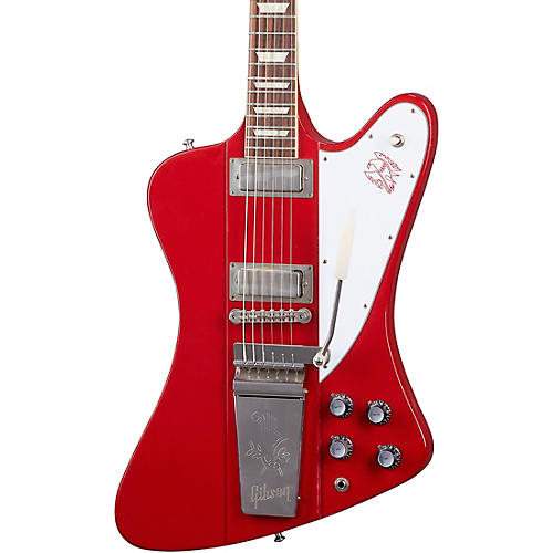 Gibson Custom Murphy Lab 1963 Firebird V w/ Maestro Vibrola Light Aged Electric Guitar Cardinal Red