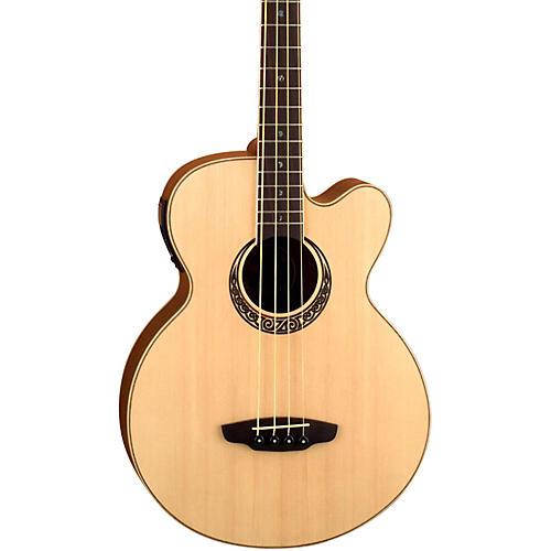 Luna Guitars Muse Acoustic-Electric Bass Guitar