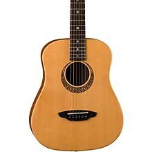 Open BoxLuna Guitars Muse Safari Series Spruce 3/4 Dreadnought Travel Acoustic Guitar