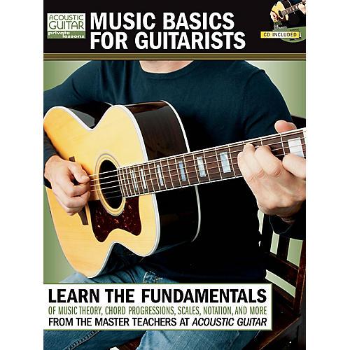 String Letter Publishing Music Basics for Guitarists String Letter Publishing Series Softcover with CD Written by Various