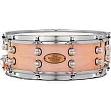 Pearl Music City Custom Solid Shell Snare Maple in Hand-Rubbed Natural Finish