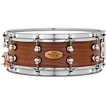 Pearl Music City Custom Solid Shell Snare Walnut in Hand-Rubbed Natural Finish