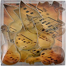 AIM Music Cookie Cutter Set - 7 Pieces