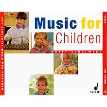 Schott Music For Children Accompaniment CD's (Complete Set Of 3) for Orff