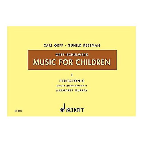 Schott Music For Children Vol. 5 Minor Triads Bordun by Carl Orff arr by Hall/Walter