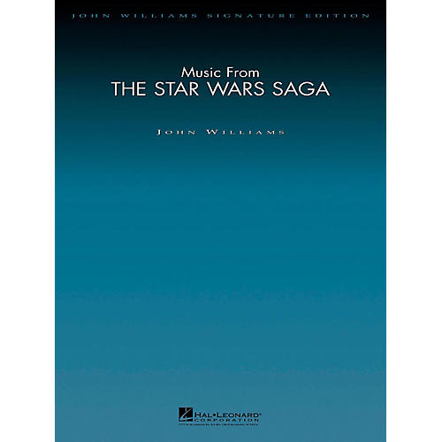 Hal Leonard Music From The Star Wars Saga - John Williams Signature Edition Orchestra Score and Parts
