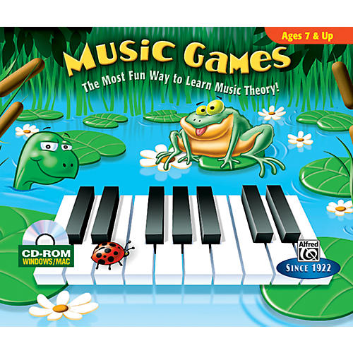 Alfred Music Games CD-ROM Jewel Case Windows/Macintosh