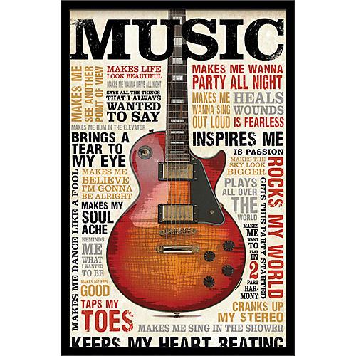 Trends International Music Inspires Me Poster
