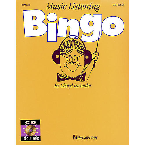 Hal Leonard Music Listening Bingo (Replacement CD (Set of 2)) CD Composed by Cheryl Lavender