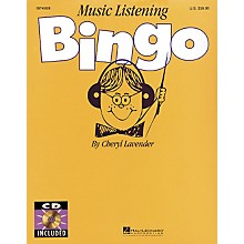 Hal Leonard Music Listening Bingo