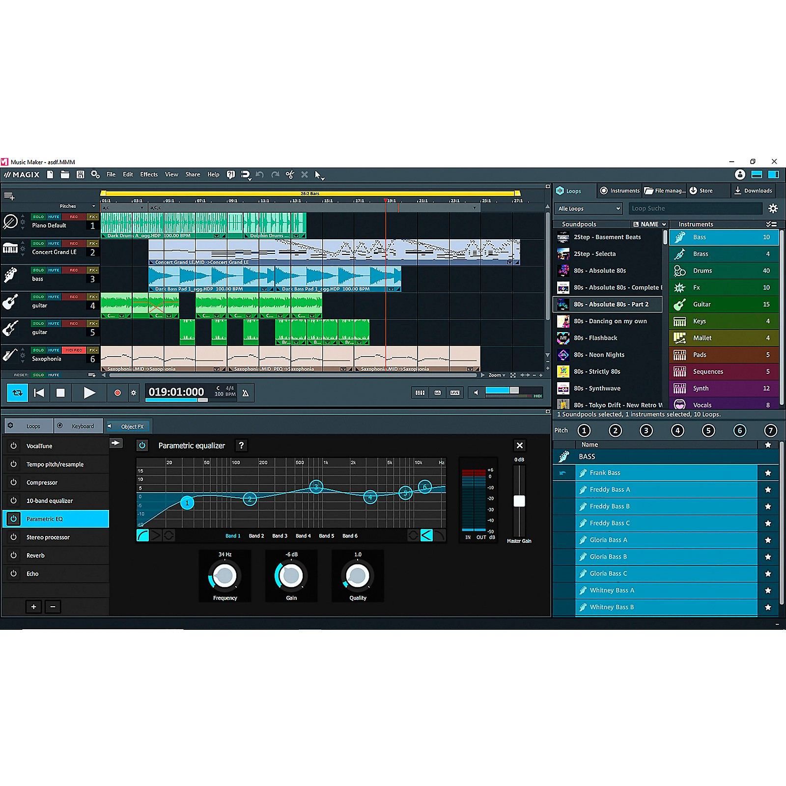 Magix Music Maker 2020 Premium Edition (Download)