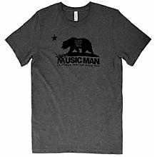 Music Man Bear T-Shirt Medium Heather Gray