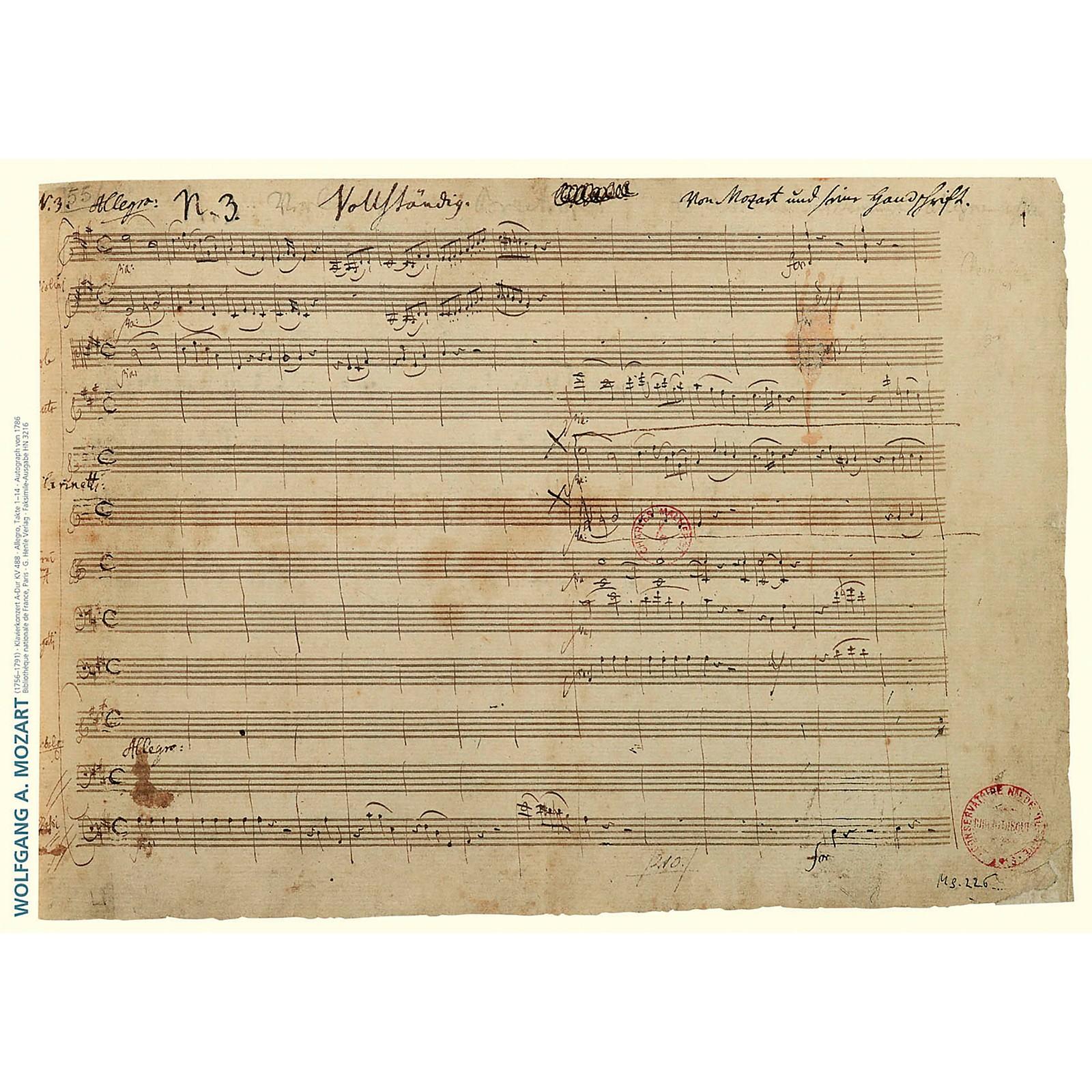 G. Henle Verlag Music Manuscript Notepad