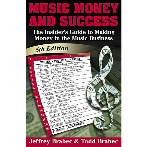 Music Sales Music, Money And Success: The Insider's Guide to Making Money in the Music Business