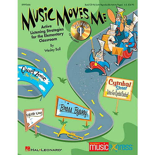 Hal Leonard Music Moves Me - Active Listening Strategies for the Classroom Book/CD