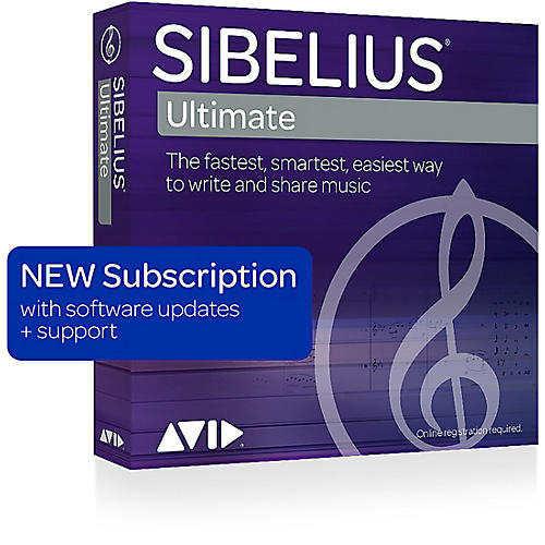 Sibelius Music Notation Software Subscription