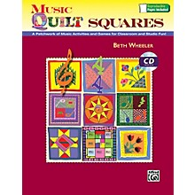 Alfred Music Quilt Squares Book and Data CD