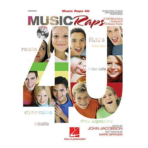 Hal Leonard Music Raps 4 U (Collection) (A 'NOTE'worthy Collection of Music Facts) Composed by John Jacobson