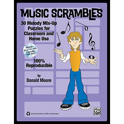 Alfred Music Scrambles Book & CD