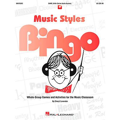 Hal Leonard Music Styles Bingo Games And Activities Game/CD