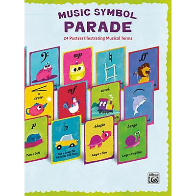 Alfred Music Symbol Parade 24-Poster Set